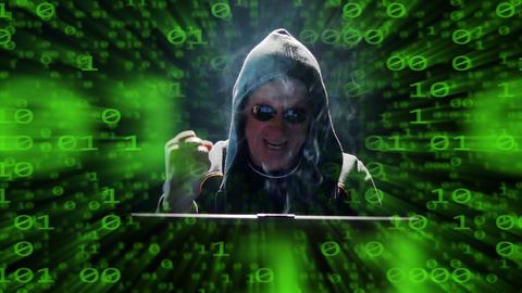 internet hacker binary code fly success mimic 4k UHD 11633 Footage