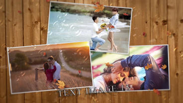 A Romantic Autumn After Effects Template