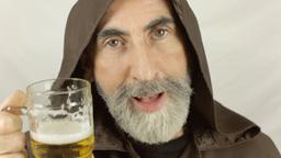 Friar beer irresistible drunk Footage