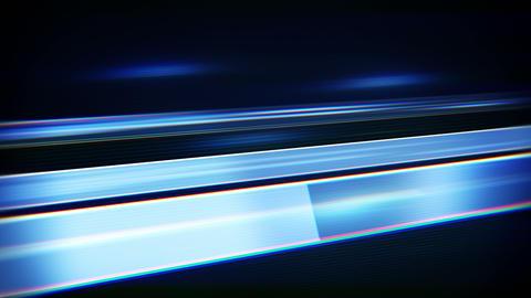 blue flashing stripes loopable techno background 4k (4096x2304) Animation