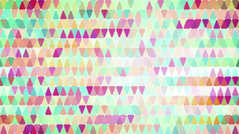 colorful triangles loopable geometric background 4k (4096x2304) Animation