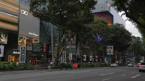traffic on orchard road Live影片