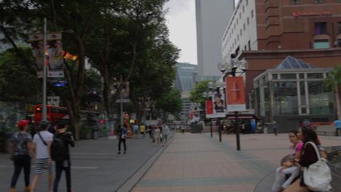 singapore mall takashimaya - orchard road Footage