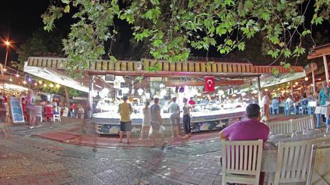 Fethiye Fish Market stock footage