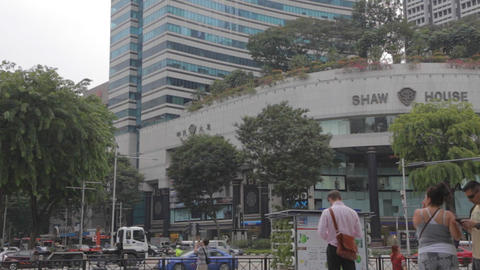 Singapore shaw house on orchard road Live影片