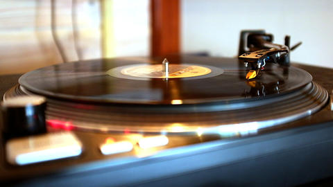 Turntable Collection 15 Footage Stock Video 1