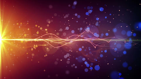 light stripe and particles loopable background 4k (4096x2304) Animation