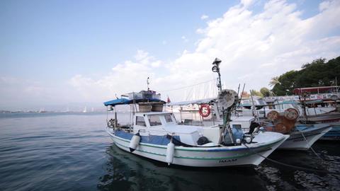 Fethiye City Kordon Coastline Footage