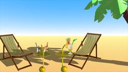 Summer...sun...sea...beach 2015 stock footage