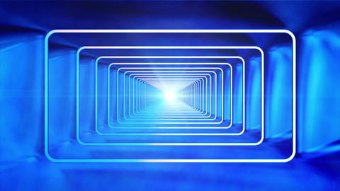 Broadcast Endless Tunnel 10 stock footage