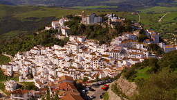 Casares, Andalucia stock footage
