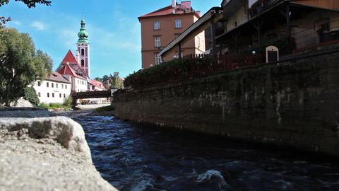 Cesky Krumlov, Bohemia Footage