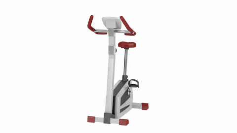Exercise bike Animation