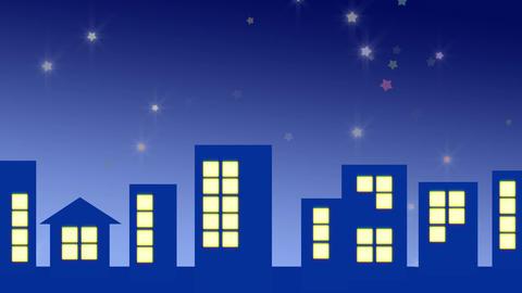 夜の星 stock footage