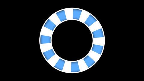circle rotation png CG動画