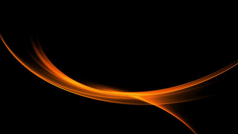 Fiery Red Elegant Motion, Flowing Energy Animation