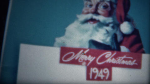 (8mm Film) Coke Christmas 1949 Ad Live Action
