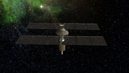 Satellite Stock Video Footage