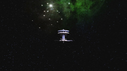 Space station Stock Video Footage