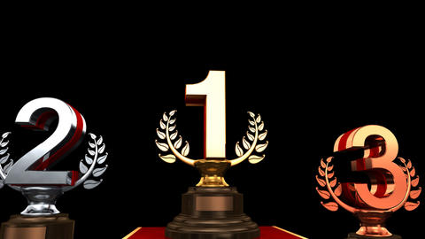 Podium Prize Trophy