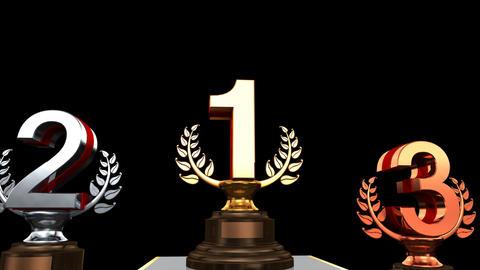Podium Prize Trophy 0