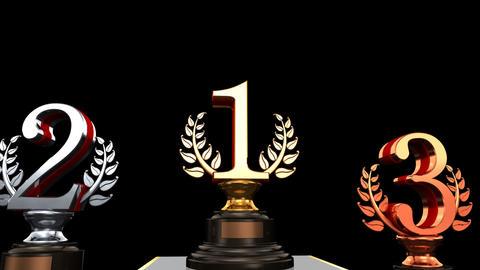Podium Prize Trophy 2