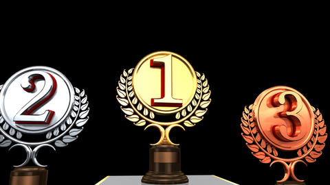 Podium Prize Trophy 1