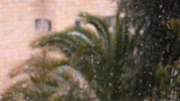 Jerusalem snow 2012 2 Stock Video Footage