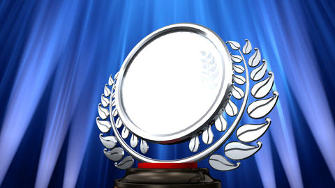 Medal Prize Trophy E6 HD Stock Video Footage