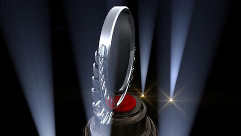 Medal Prize Trophy F2 HD Stock Video Footage