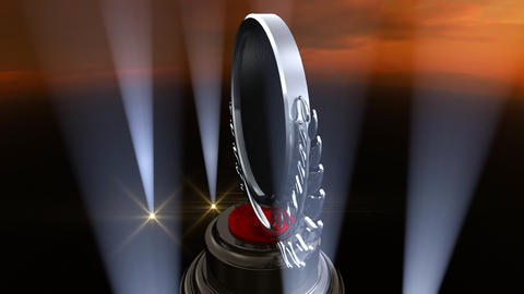 Medal Prize Trophy F4sky HD Animation