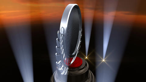 Medal Prize Trophy F4sky HD Stock Video Footage