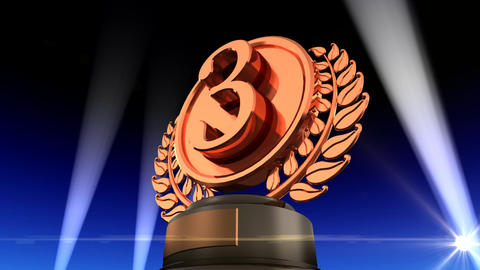 Medal Prize Trophy Fb2 HD Stock Video Footage