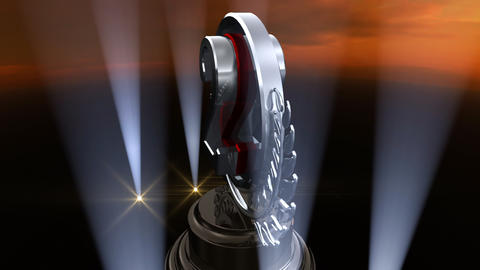 Medal Prize Trophy Fb4sky HD Stock Video Footage