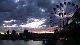 Australia Amusement park Stock Video Footage