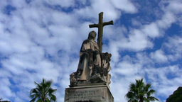Australia Christ Statue Stock Video Footage