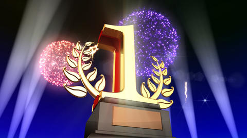 Number Trophy Prize Fb5Flash HD Animation