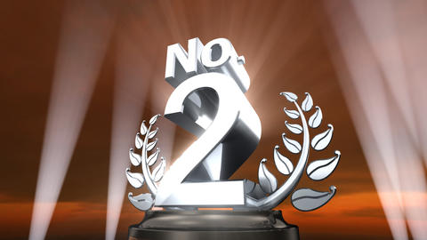 Number Trophy Prize No E4sky HD Animation