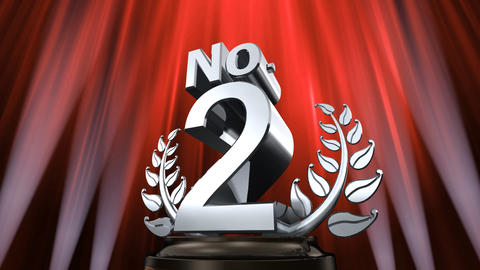 Number Trophy Prize No E6 HD Stock Video Footage