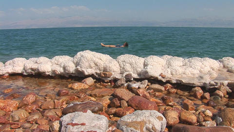 dead sea 10 Stock Video Footage