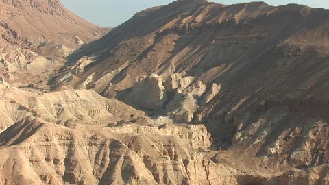 Israel desert 1 Stock Video Footage