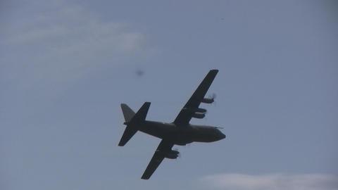 "Lockheed C-130 \""Hercules\"" Stock Video Footage"