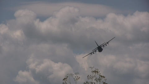 "Lockheed C-130 ""Hercules\"" Stock Video Footage"