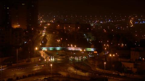 Jerusalem night 1 Stock Video Footage
