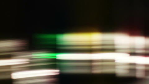 Colorful LIghts and Streaks 04 Stock Video Footage