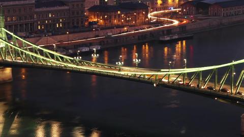 European City Timelapse 42 zoom Stock Video Footage