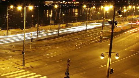 European City Timelapse 48 zoom Stock Video Footage
