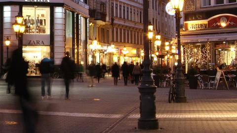 European City Timelapse 56 Stock Video Footage