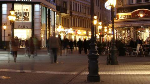 European City Timelapse 56 Footage