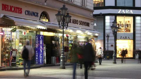 European City Timelapse 58 Stock Video Footage